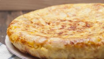 Tortillas españolas congeladas
