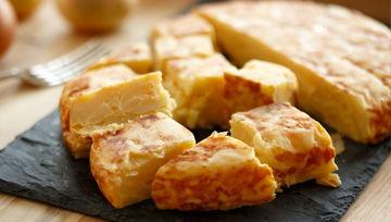 Tortillas españolas refrigeradas